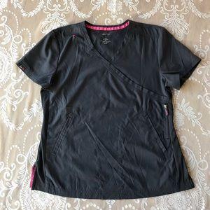 KOI lite nursing scrubs top uniforms size L